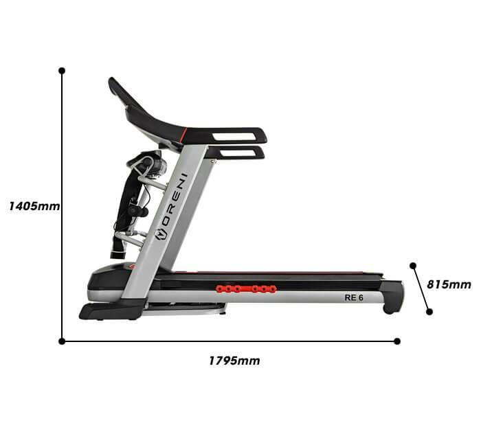 Khung máy chạy bộ đa năng được làm từ loại thép chịu lực cao cấp