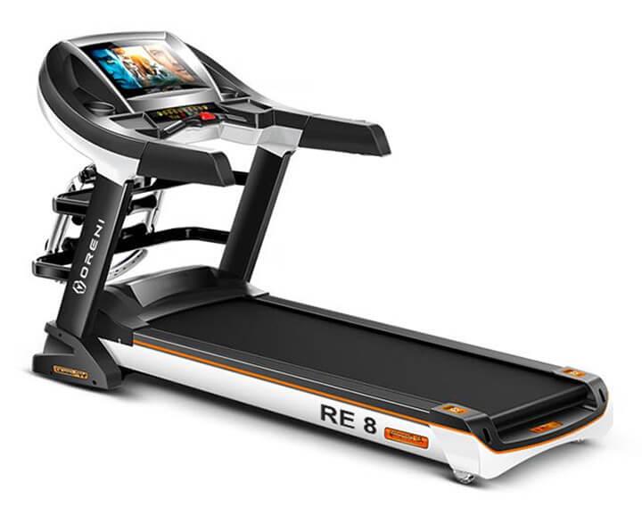Máy chạy bộ điện Oreni RE-8 là thiết bị tập luyện thể dục hoàn hảo mà bạn nên chọn lựa