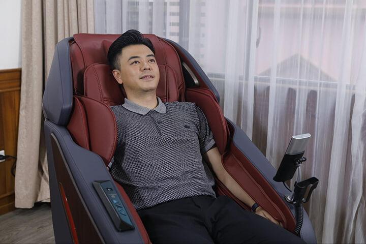 Oreni OR-500 có đến 5 chương trình massage tự động