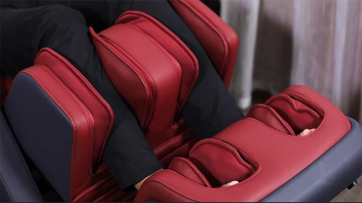 Ghế massage Oreni OR-500 có tính năng massage chân chuyên biệt