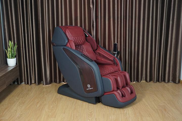 Ghế massage OreniOR-500 là sản phẩm chăm sóc sức khỏe tiên tiến hàng đầu hiện nay