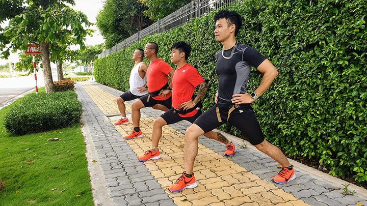 Trước khi chạy bạn cần khởi động kỹ càng.