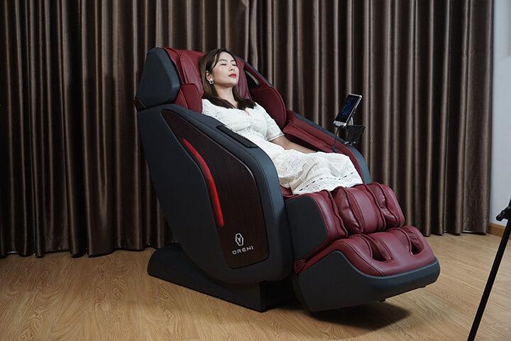 Ghế massage toàn thân Oreni mang lại nhiều công dụng cho sức khỏe