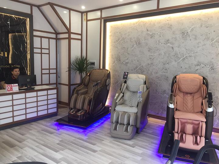 Cửa hàng ghế massage Oreni chất lượng cao.