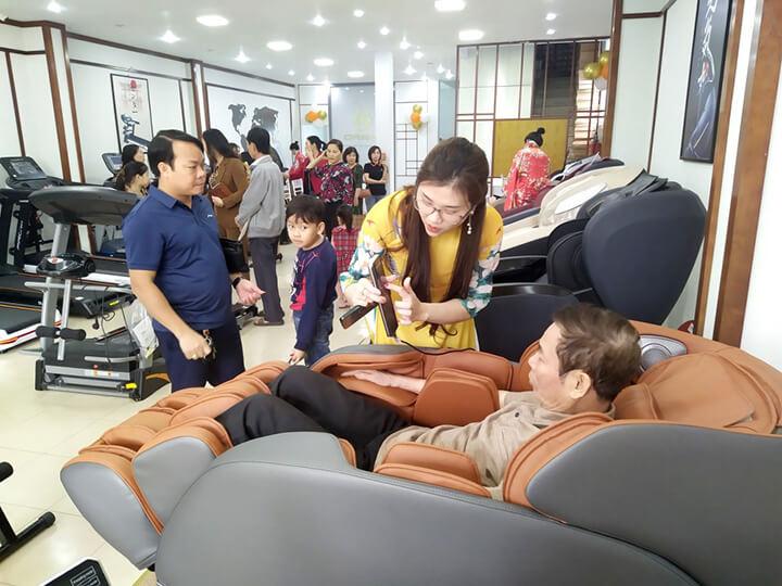 Cần chọn sản phẩm ghế massage có kích thích phù hợp với cơ thể của bạn
