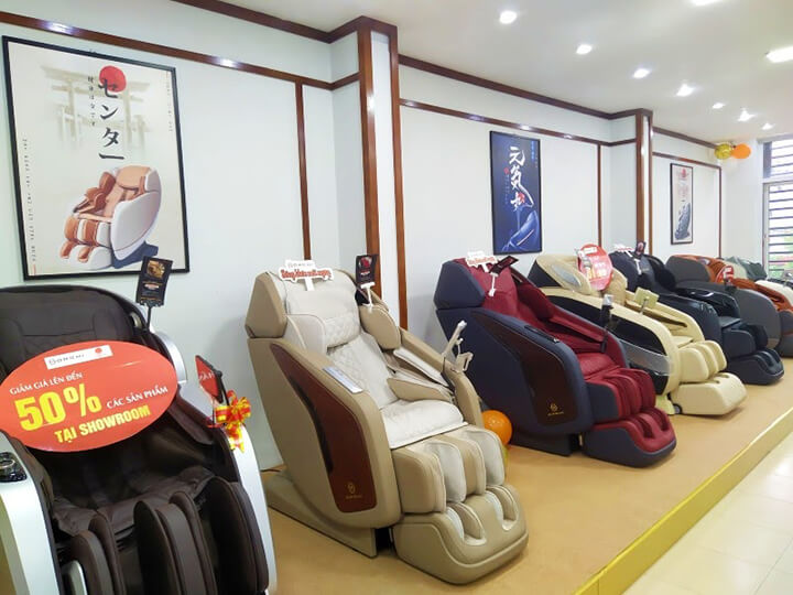 Ghế massage là món quà cho sức khoẻ mỗi người mỗi gia đình