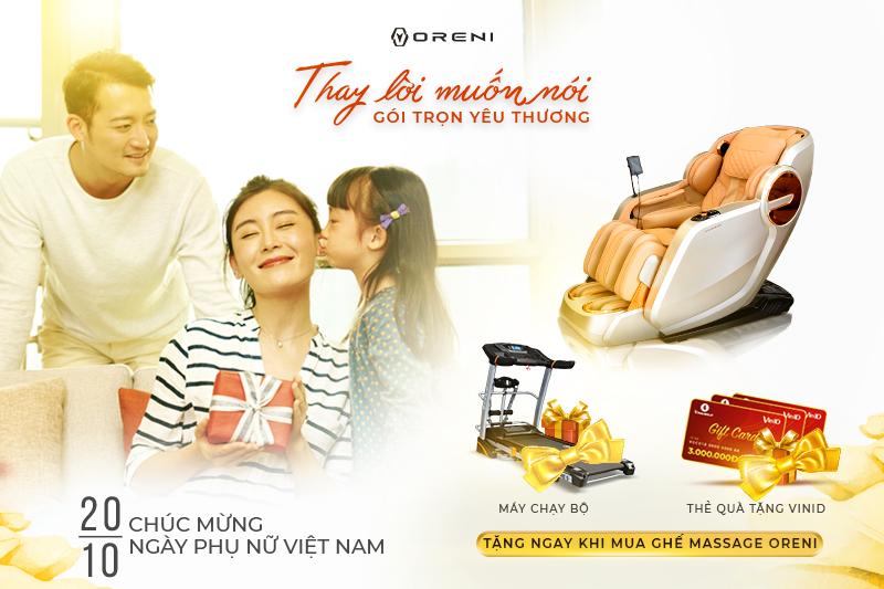 Mừng ngày Phụ nữ Việt Nam 20/10: Thay lời muốn nói - Gói trọn yêu thương