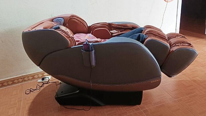Dùng ghế massage quá lâu sẽ không tốt cho sức khỏe