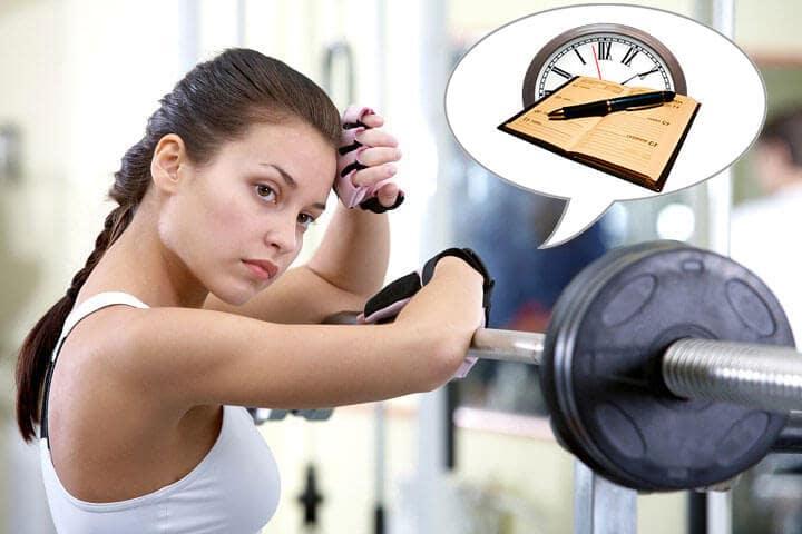 Nên tập gym vào thời gian nào