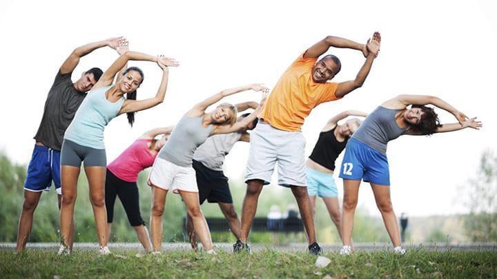 Tập thể dục thể thao tốt cho sức khỏe