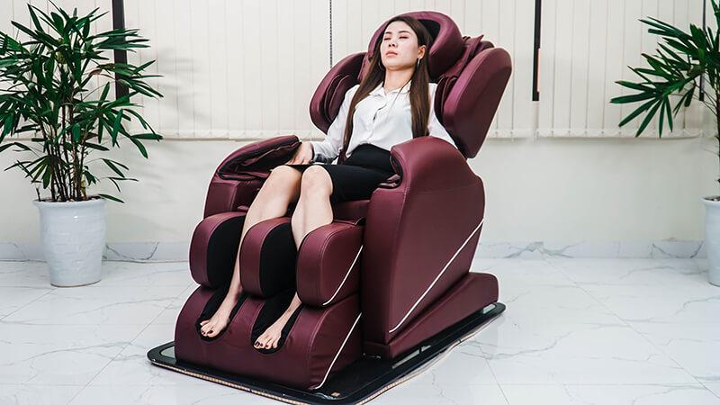 Ngồi ghế massage quá nhiều sẽ ảnh hướng tới tuổi thọ của thiết bị.