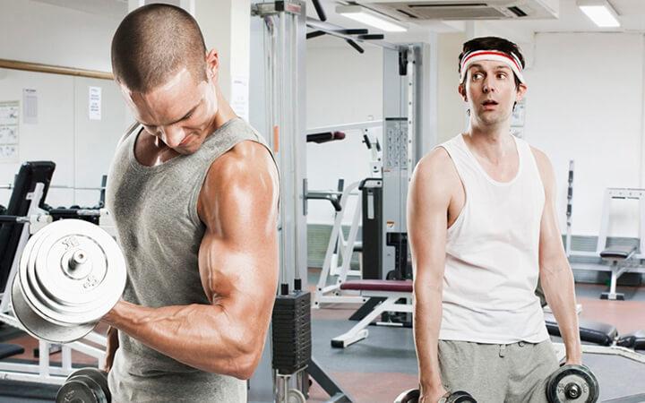 Tập Gym giúp người gầy cải thiện cân nặng hiệu quả.
