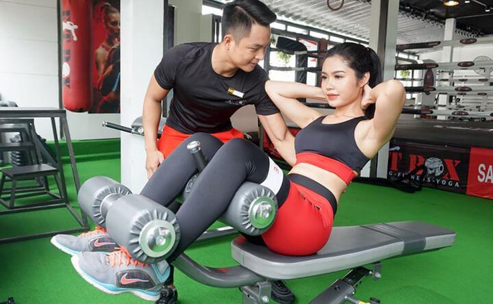 Lựa chọn bài tập Gym phù hợp giúp bạn tăng cân hiệu quả.