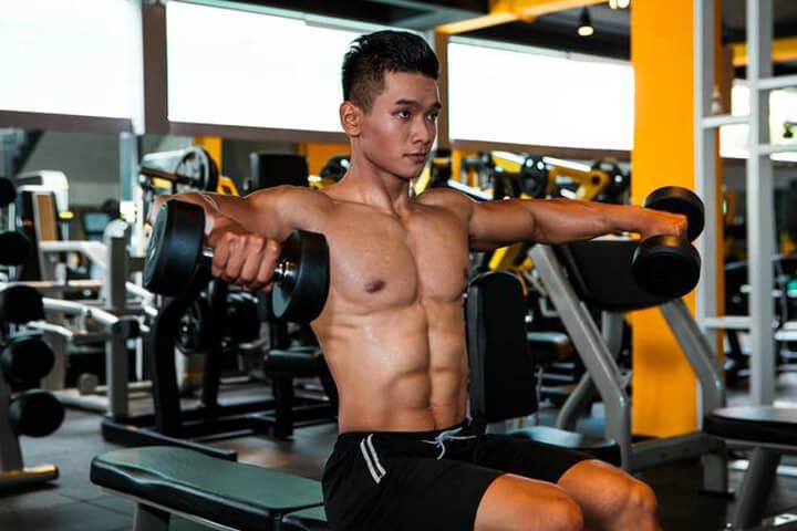 Tập Gym giúp bạn khỏe mạnh, ít bệnh tật hơn.