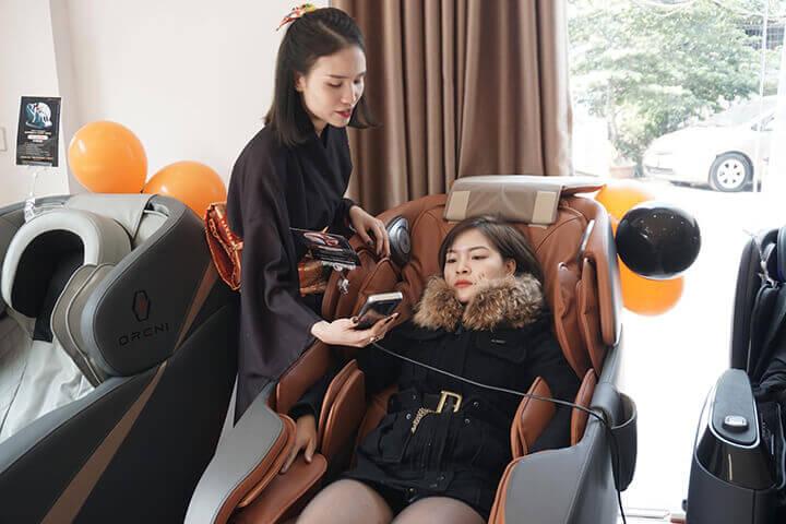 Sử dụng ghế massage đúng cách là cách giúp các bộ phận hoạt động tốt, độ bền cao
