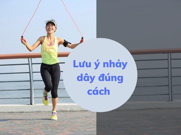 Những lưu ý khi tập nhảy dây