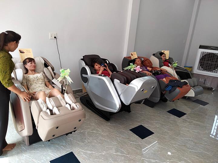Hình ảnh showroom ghế massage Oreni Gò Vấp