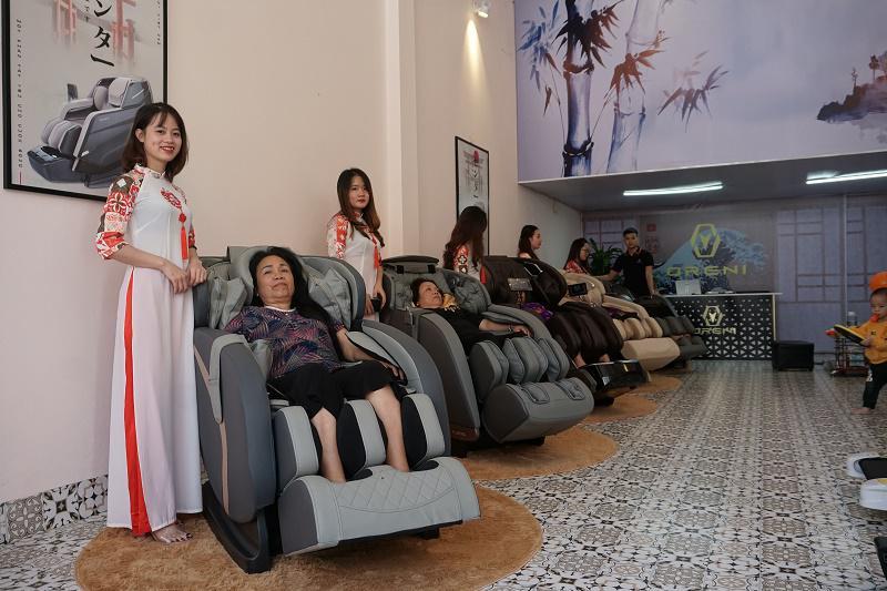 Địa chỉ bán ghế massage toàn thân chính hãng uy tín tại Sơn La