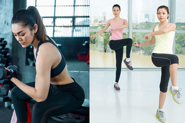 Con gái nên tập Aerobic hay Gym để có vòng eo thon, vóc dáng đẹp
