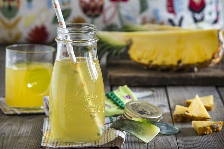 Kinh nghiệm uống nước ép dứa giảm cân làm đẹp hiệu quả