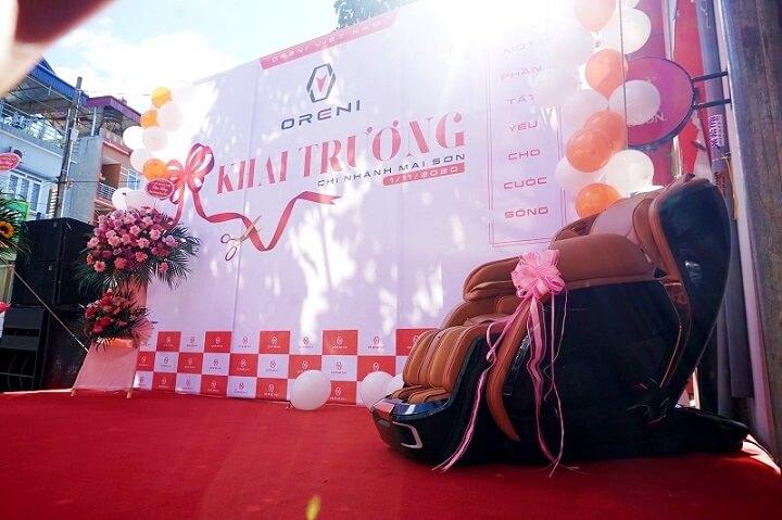 Oreni Mai Sơn, Sơn La khai trương ngày 01/11 với sự tham gia của đông đảo người dân