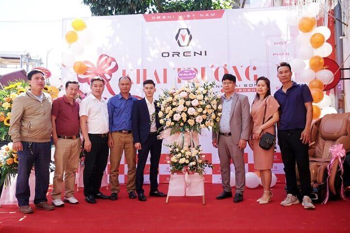 Oreni Việt Nam có nhiều showroom và đại lý khắp cả nước