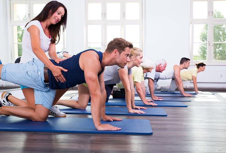 Pilates vật lý trị liệu