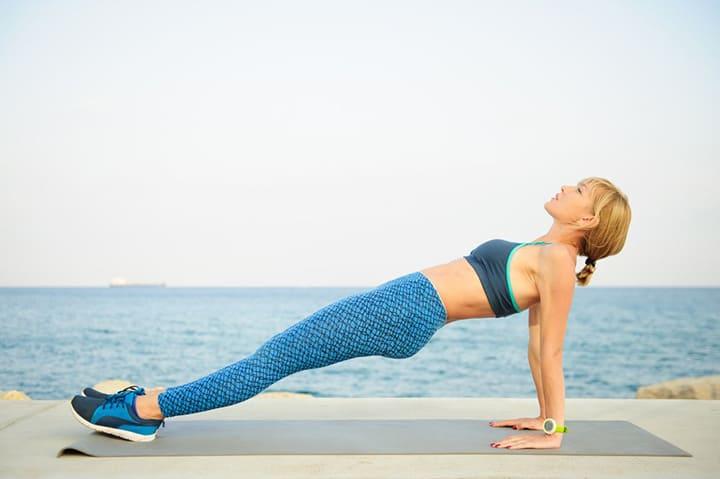 Bài tập Plank ngược