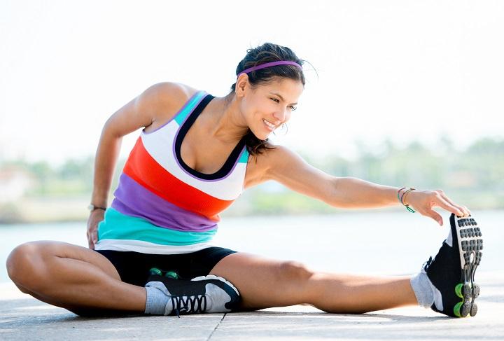 Phần cơ được giãn nở hoàn toàn làm giảm căng thẳng đáng kể