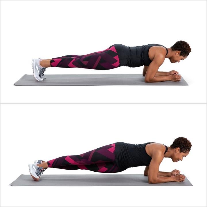 Plank bằng khuỷu tay
