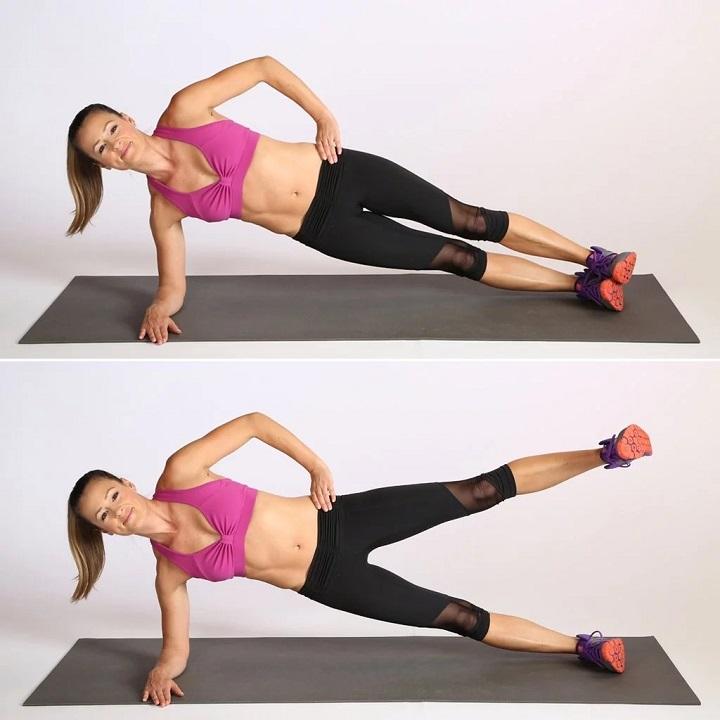 Thực hiện Plank nghiêng đúng cách