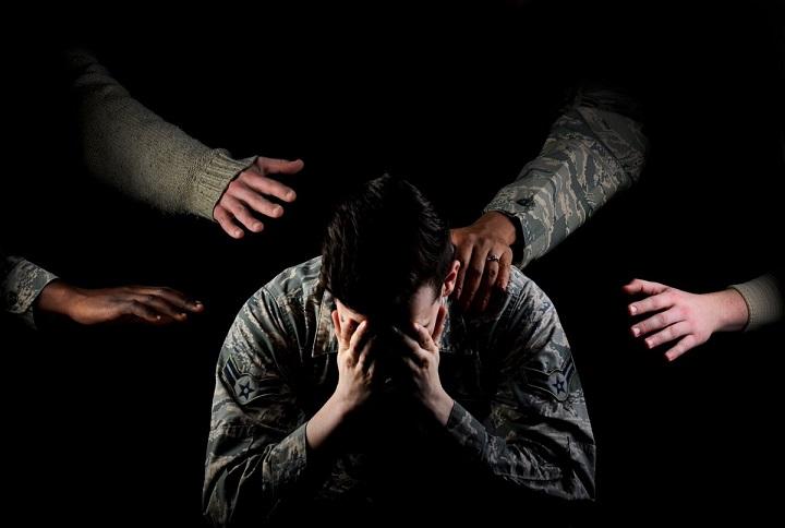 """Đối với các cực quân nhân PTSD còn được hiểu là """"Sốc vỏ đạn"""""""