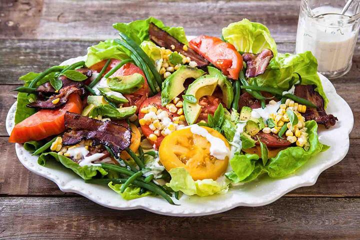 Các nguyên liệu làm món salad chú ý cần vệ sinh đúng cách
