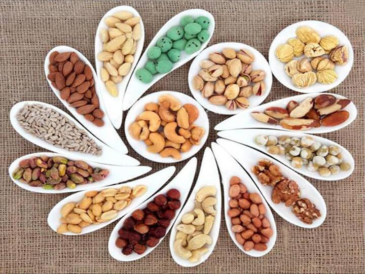 Sau khi tập Gym nên ăn gì - Các loại hạt