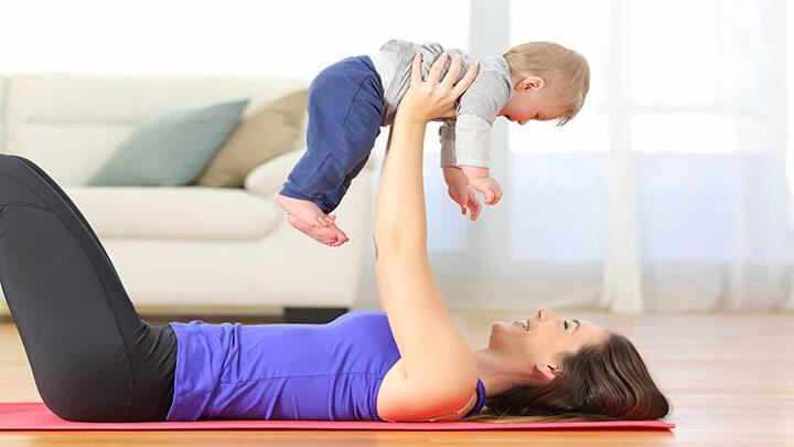 Tập Gym mang lại rất nhiều lợi ích cho phụ nữ sau sinh