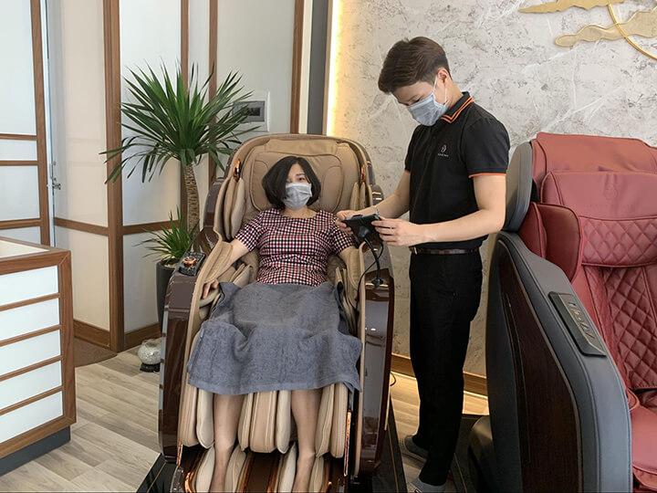 Thương hiệu ghế massage Oreni được người tiêu dùng đánh giá cao và ưu tiên chọn lựa