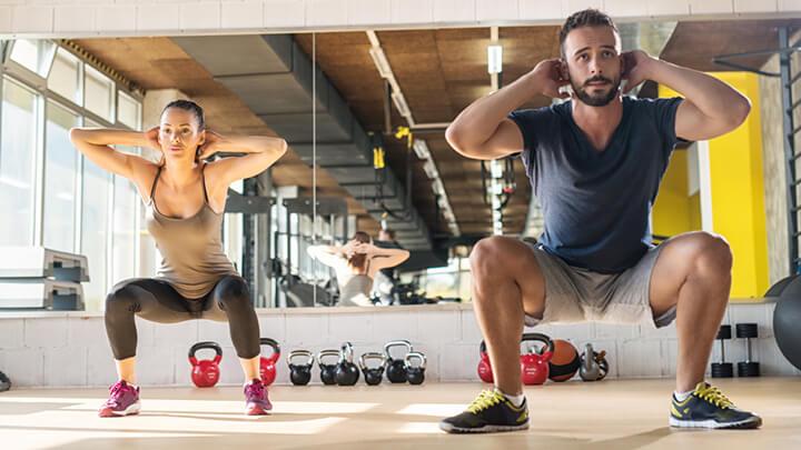 Tập Squat đúng cách và điều độ giúp bạn đạt được hiệu quả rất cao