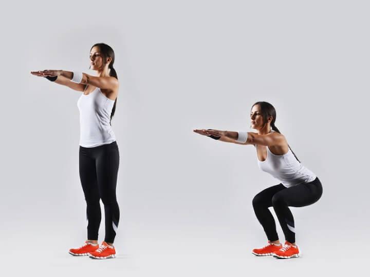 Tập Squat đúng cách giúp bạn sở hữu vòng 3 căng tròn và bắp đùi săn chắc