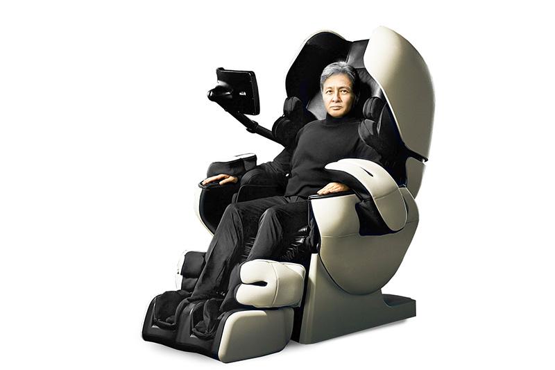 Sử dụng ghế massage nội địa Nhật