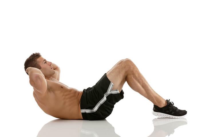 Tập X Crunch giúp cho bạn tăng cường săn chắc vòng 2, là bài tập tabata nên áp dụng thường xuyên