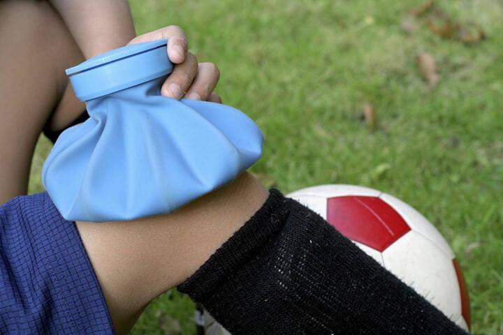 Chườm nóng khô giúp giảm viêm cơ nhanh chóng