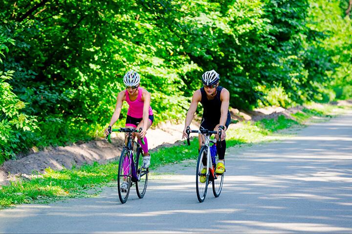 Đạp xe thường xuyên giúp tăng cường hệ miễn dịch, phòng ngừa ung thư