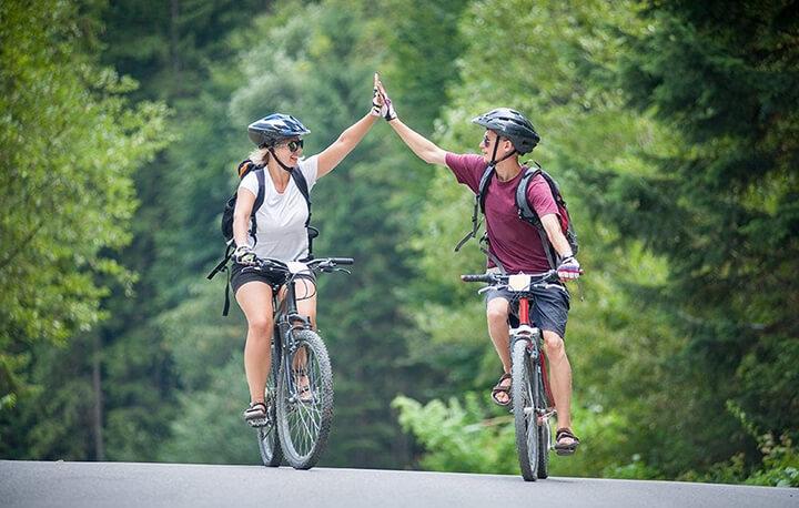 Tăng cường thể lực nhờ đạp xe thường xuyên