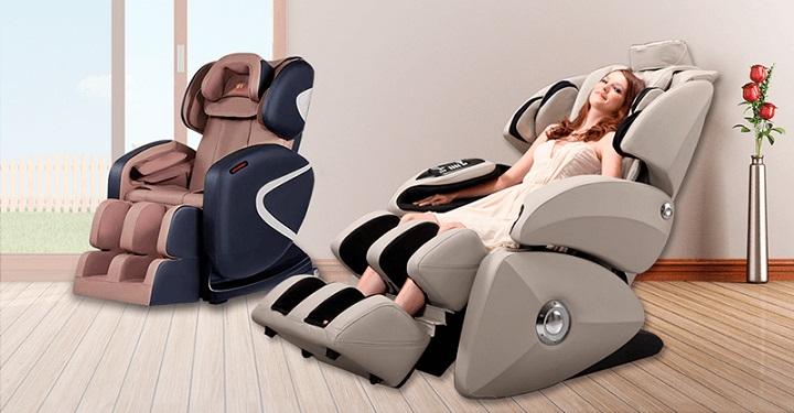 Giữ cơ thể được đúng tư thế nhờ thiết kế khoa học của ghế massage khi ngồi.