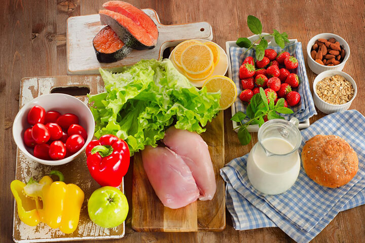 Tập luyện Plank cần kết hợp một chế độ dinh dưỡng hợp lý