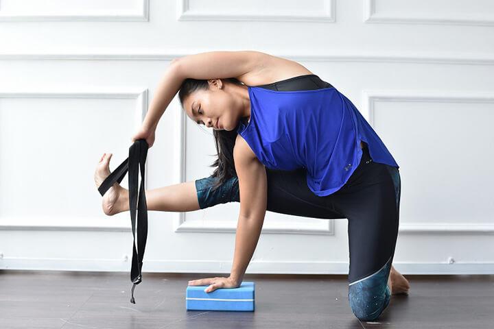 Tác dụng khi tập Plank là giúp cơ thể giữ thăng bằng tốt hơn