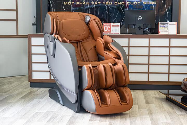 Ghế massage toàn thân là sản phẩm chăm sóc sức khỏe được nhiều người ưa chuộng
