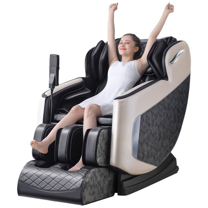 Ngồi đúng tư thế giúp bài tập massage phát huy hiệu quả