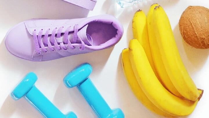 Sau khi tập Gym bạn nên bổ sung chuối vào bữa ăn để phục hồi cơ bắp
