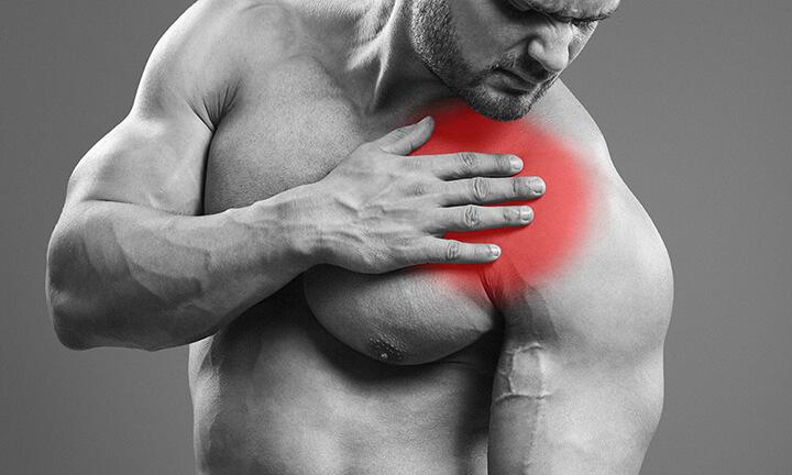 Đau cơ là hiện tượng dễ gặp khi tập Gym.